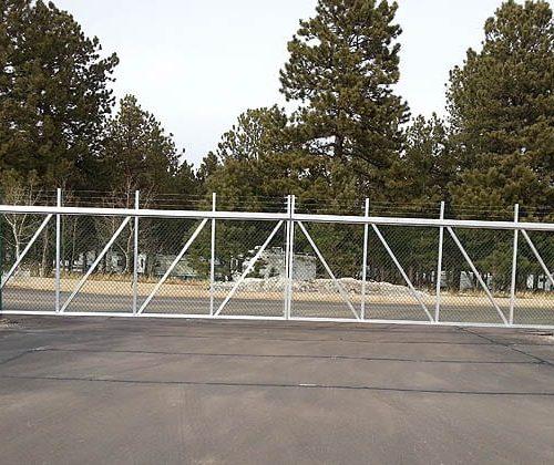 Bi Parting Cantilever Gates