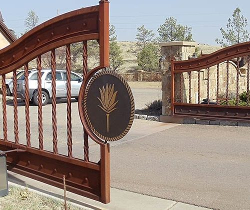 Dual-Swing-Gates-for-Gated-Community