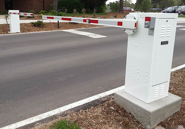 Dual Traffic Control Barriers