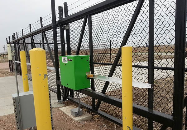 HySecurity Slide Gate for Energy Provider