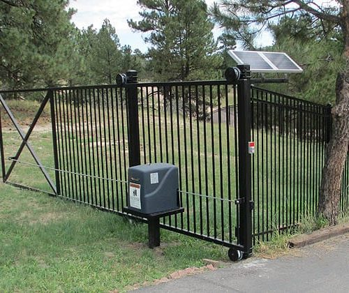 Mountain Home Swing Gate and Operator