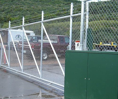 Pivot Gate at Aspen Airport