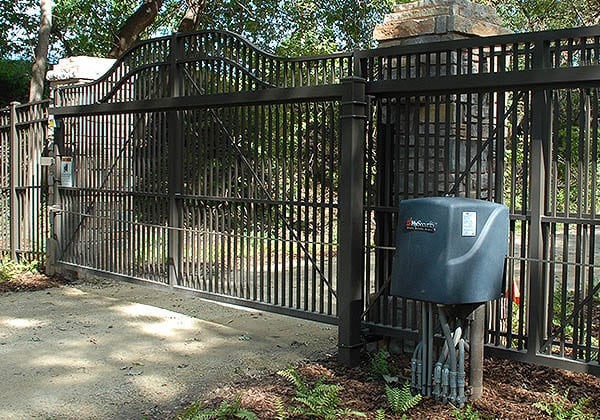 Slide Gate with Operator