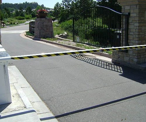Traffic Control Barriers for Gated Community