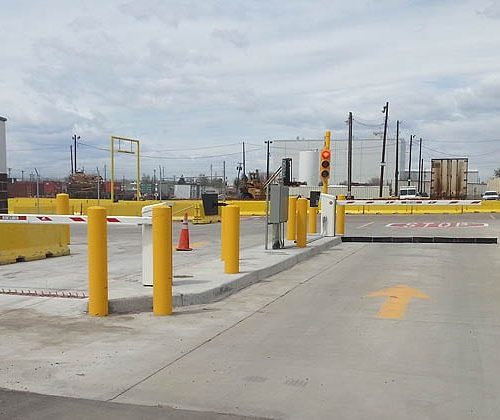 Traffic Control Barriers w Access Controls