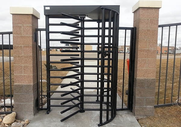Turnstile WY Army National Guard