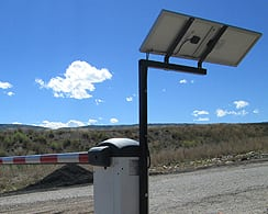 Solar Lift Gate