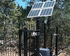 Solar Slide Gate Operator