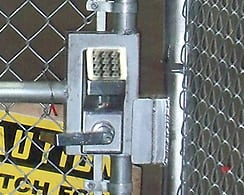 Walk Gate Access Controls