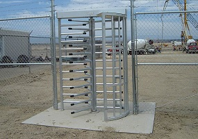 turnstiles commercial improved security