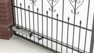 swing gate with automatic opener