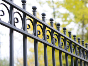 Wrought Iron Fence Solar Gate Options